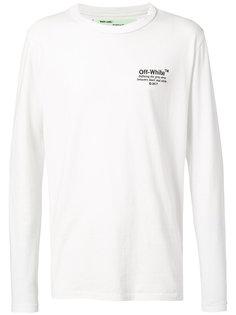 футболка с длинными рукавами Off-White