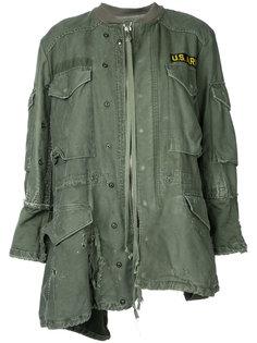 асимметричная куртка  Greg Lauren