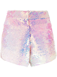 шорты с пайетками Manish Arora