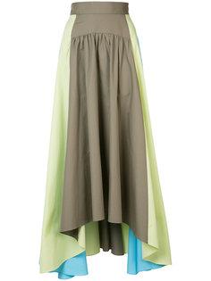 длинная юбка с асимметричным подолом Peter Pilotto