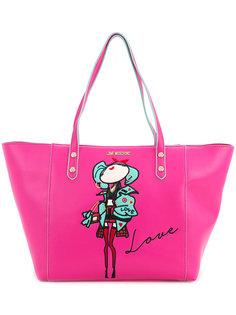 сумка с заплаткой doll  Love Moschino