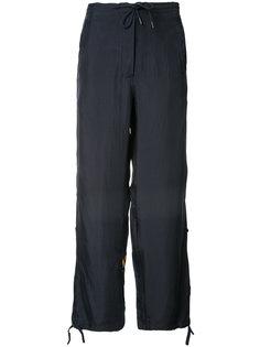 спортивные брюки с вышитым тигром Maharishi