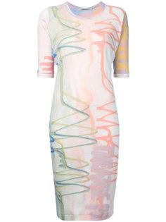 платье с абстрактным принтом Theatre Products