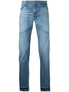 джинсы с контрастными панелями Factotum