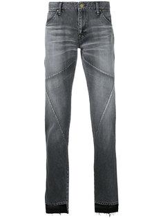 джинсы с неравномерными краями Factotum