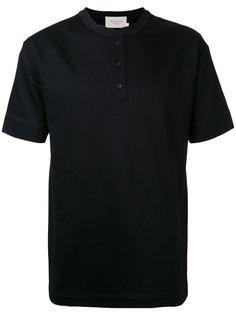 футболка с воротником на пуговицах Factotum
