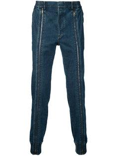 джинсы с молниями спереди Juun.J