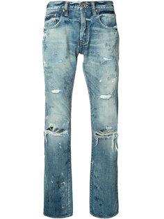 джинсы с эффектом поношенности Prps