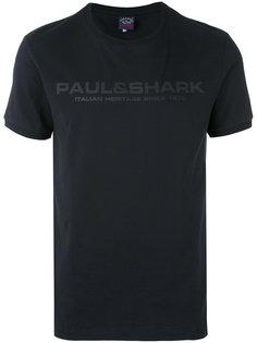футболка с логотипом Paul & Shark