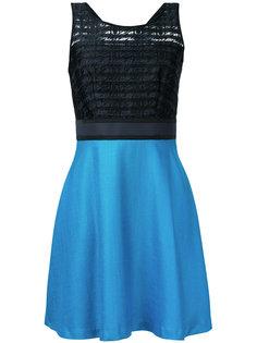 полупрозрачное платье букле  Loveless