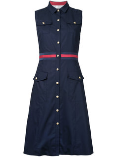 платье-рубашка в стиле милитари  Loveless
