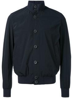 куртка-бомбер на пуговицах Herno