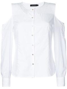 рубашка с вырезами на плечах и кружевными вставками Loveless