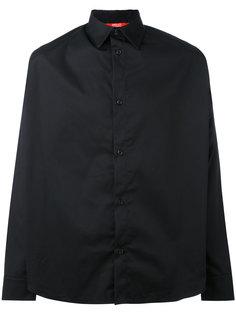 рубашка с графическим принтом на спине Hood By Air