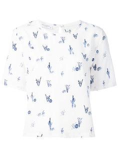блузка с цветочной вышивкой Equipment