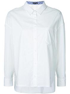 рубашка с асимметричным подолом Loveless