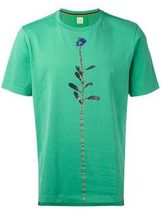футболка с изображением цветка Paul Smith