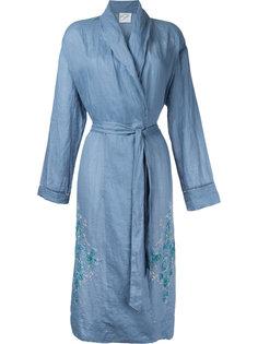 халат с вышивкой  Forte Forte