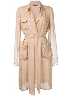 пальто с поясом Diane Von Furstenberg