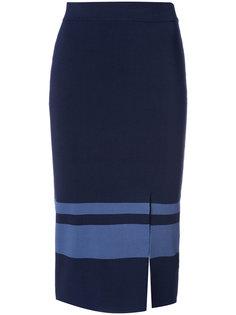платье прямого кроя с боковым разрезом  Jonathan Simkhai