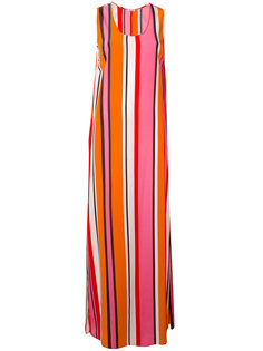 полосатое длинное платье  Sweden  P.A.R.O.S.H.
