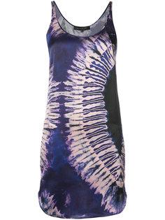 платье без рукавов с размытым принтом Barbara Bui