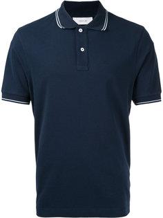 футболка-поло с контрастной окантовкой Cerruti 1881