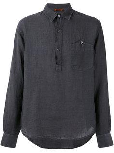 рубашка с планкой на пуговицах Barena