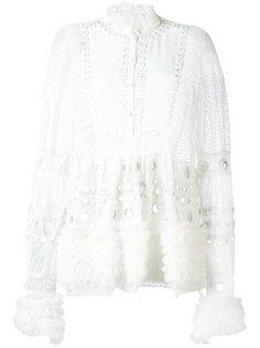 блузка с вышивкой Amen Amen.