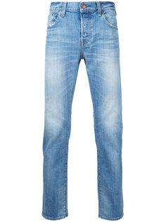 укороченные выбеленные джинсы Red Card