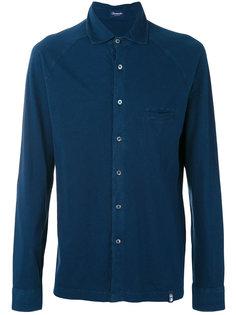 рубашка с нагрудным карманом Drumohr