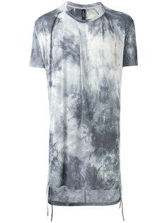 удлиненная футболка с градиентным принтом Tom Rebl