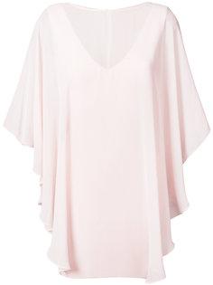 расклешенное платье-шифт Halston Heritage