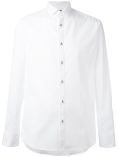 рубашка с пуговицами-черепами Philipp Plein