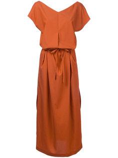 платье с завязками на поясе En Route