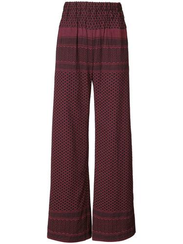 брюки-палаццо с высокой талией Cecilie Copenhagen