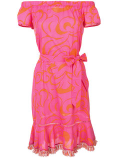 платье с поясом  Trina Turk