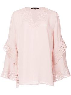 блузка с V-образным вырезом Kobi Halperin