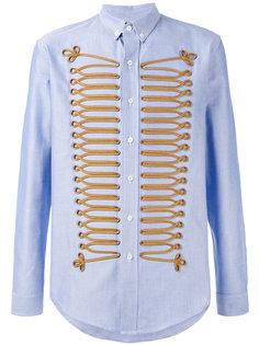 рубашка с ленточной отделкой Palm Angels