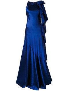 платье в пол Mohan Talbot Runhof