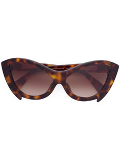 солнцезащитные очки в оправе кошачий глаз Fakbyfak