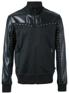 куртка на молнии с заклепками Just Cavalli