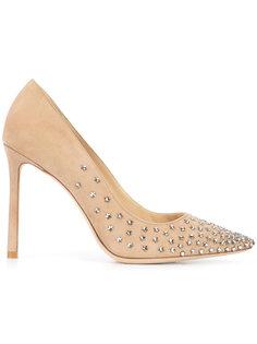 декорированные туфли Romy Jimmy Choo