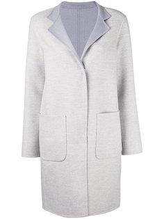 пальто средней длины с накладными карманами Manzoni 24
