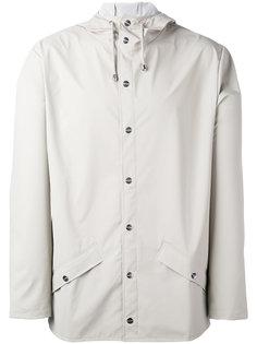 куртка с капюшоном и карманами с клапанами Rains