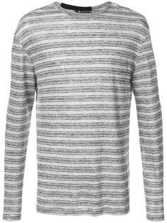 пуловер в полоску T By Alexander Wang