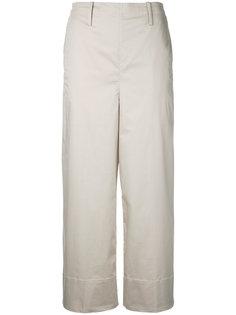 укороченные брюки Lemaire