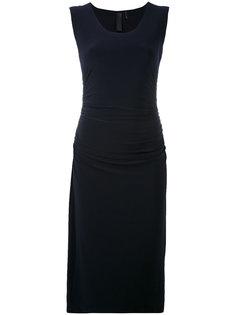 классическое приталенное платье Norma Kamali