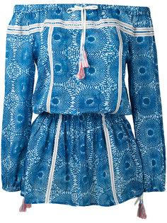 платье с открытыми плечами Lemlem