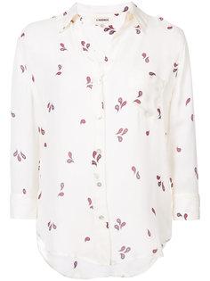 рубашка с мелким принтом Lagence